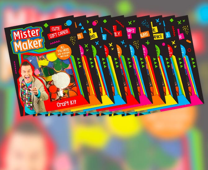 Lake Press - Mister Maker Craft Kits