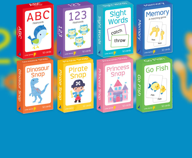 Lake Press-collection-features-little-genius-flashcards