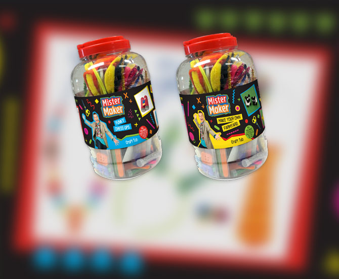 Lake Press-collection-features-Mister-Maker-Craft-Tubs
