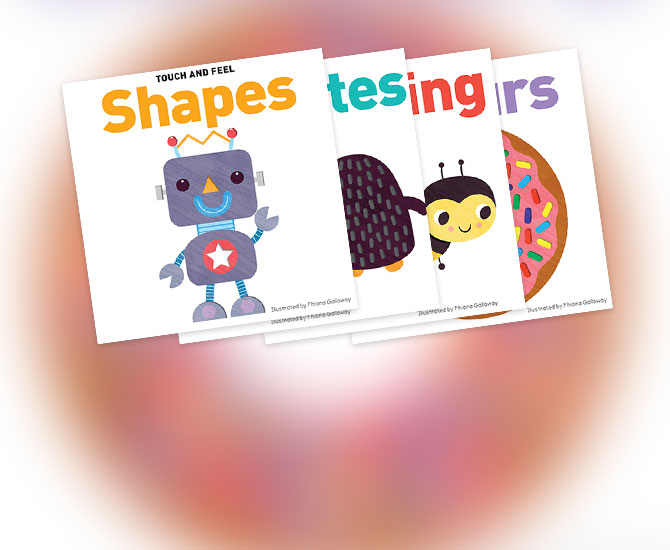 Lake Press - Touch and Feel Board Books - Feature