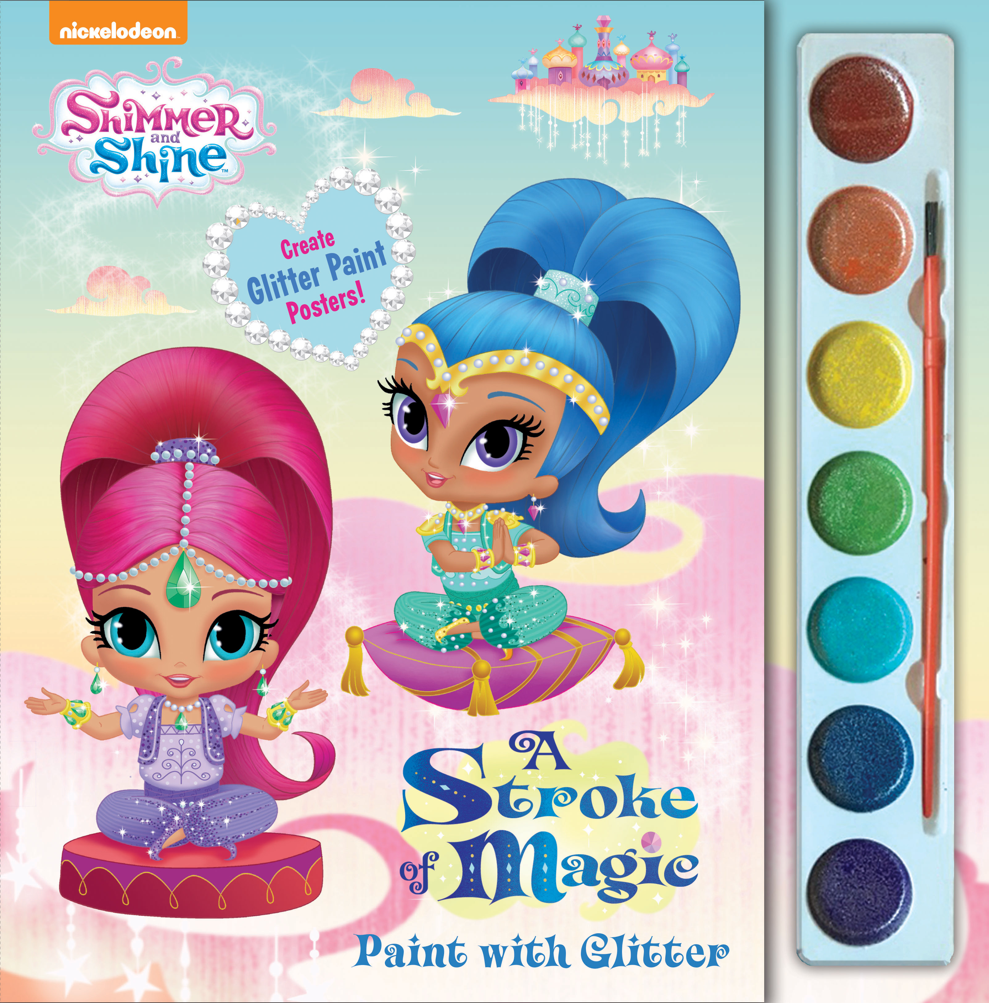 Shimmer And Shine A Stroke Of Magic Paint With Glitter