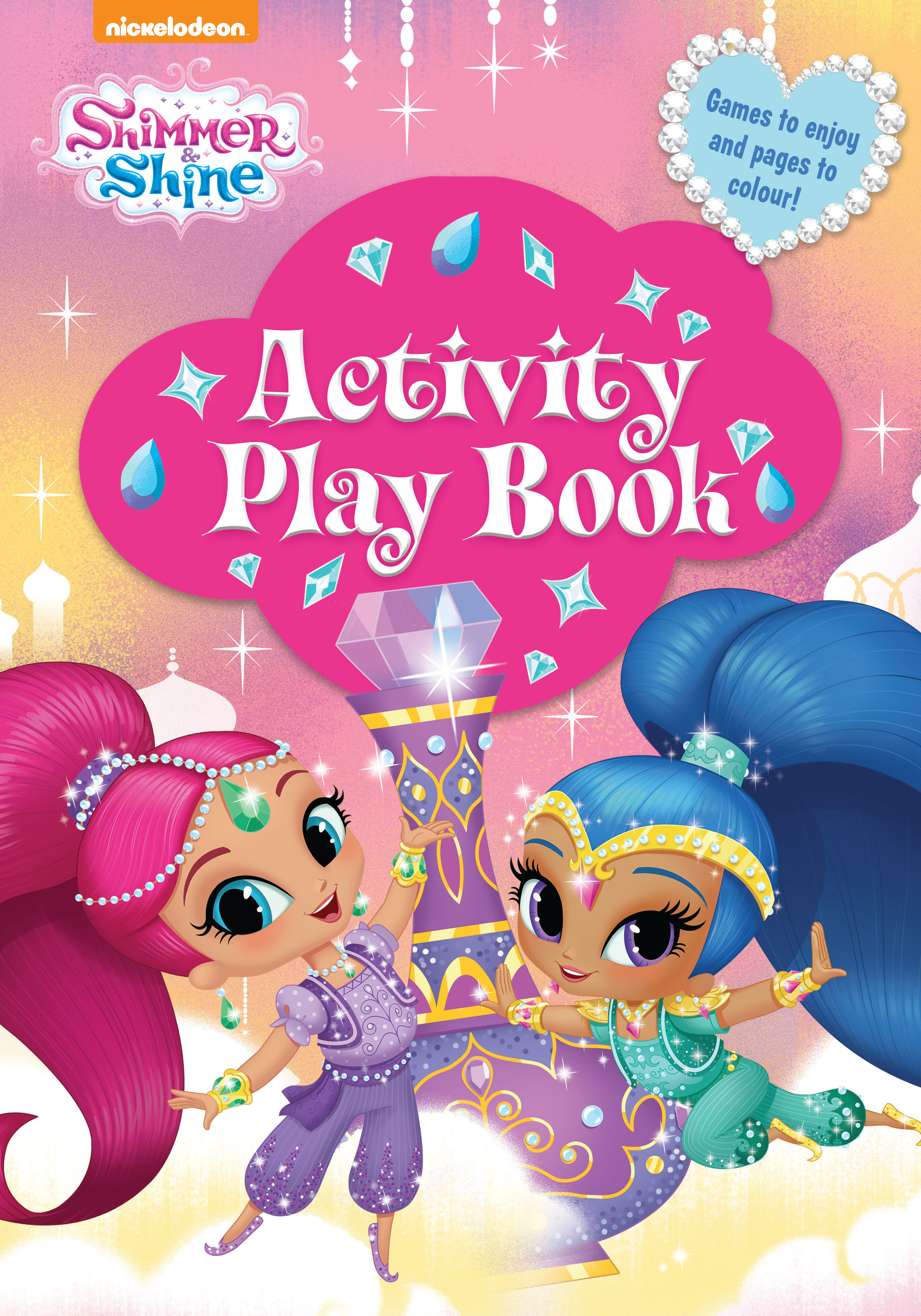 Shimmer And Shine Activity Play Book