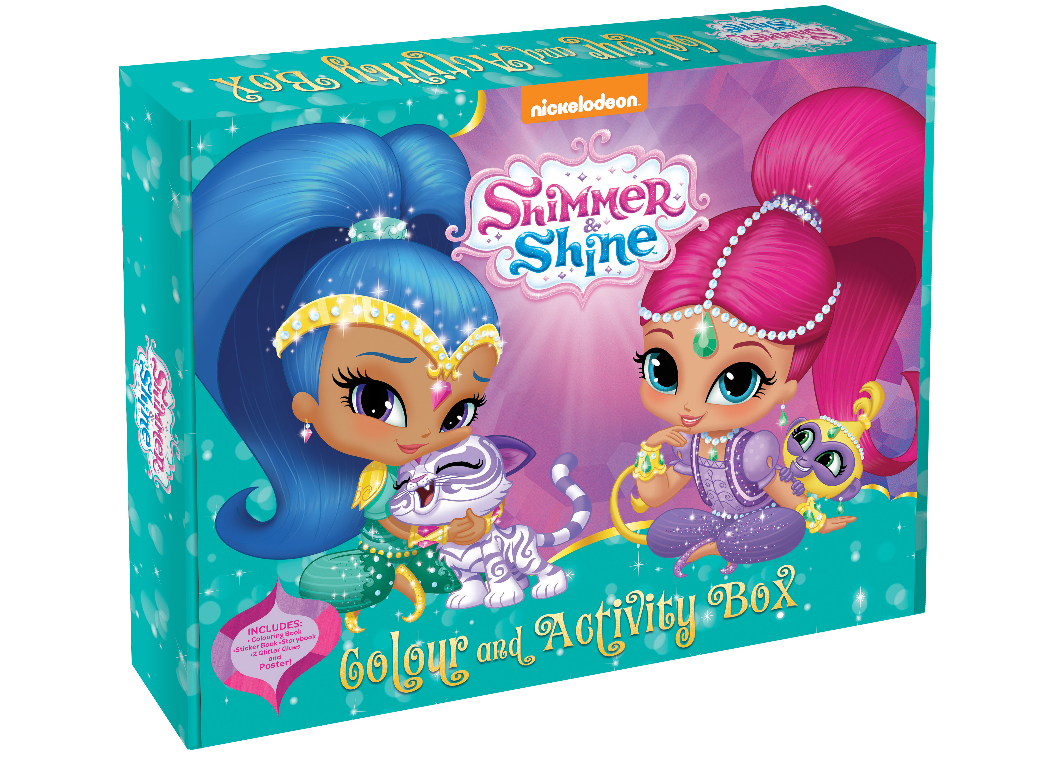 Shimmer And Shine Colour Activity Box